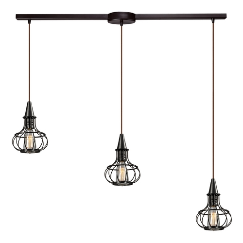 Elk Lighting Multi-Light Pendant Light 3-Lights 14191/3L