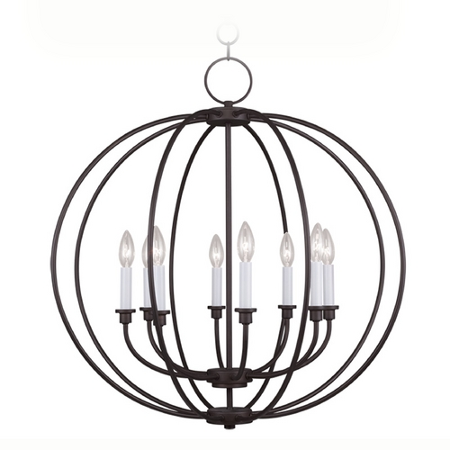Livex Lighting Livex Lighting Milania Bronze Pendant Light 4668-07