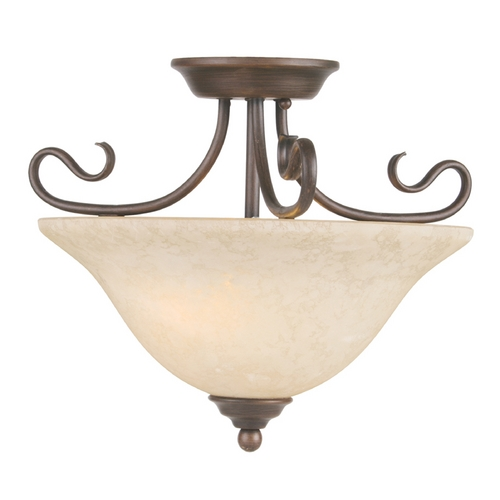 Livex Lighting Livex Lighting Coronado Imperial Bronze Semi-Flushmount Light 6121-58