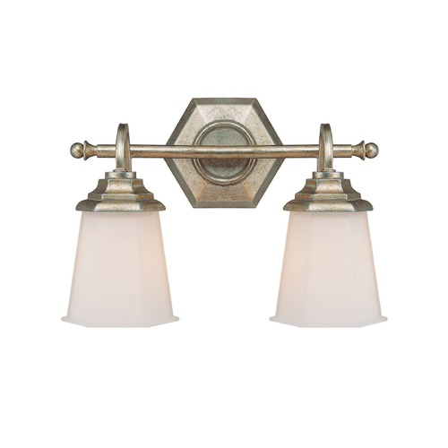 Capital Lighting Capital Lighting Fifth Avenue Winter Gold Bathroom Light 1067WG-101