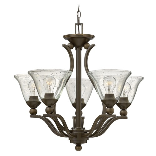 Hinkley Lighting Hinkley Lighting Bolla Olde Bronze Chandelier 4655OB-CL