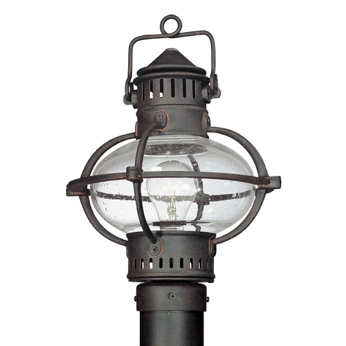 Troy Lighting Post Light with Clear Glass in Boston Bronze Finish P1875BB