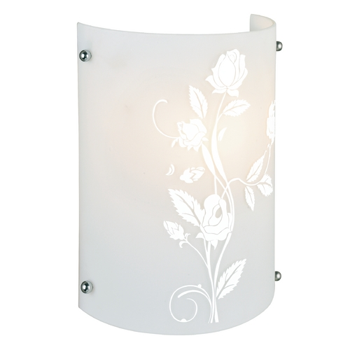 Lite Source Lighting Lite Source Lighting Hanna I Chrome Sconce LS-16476