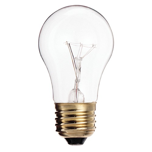 Satco Lighting Incandescent A15 Light Bulb Medium Base 2700K Dimmable S3720