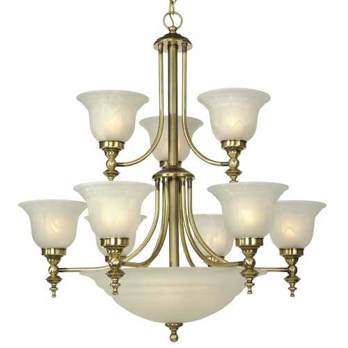Dolan Designs Lighting Twelve-Light Chandelier 664-18