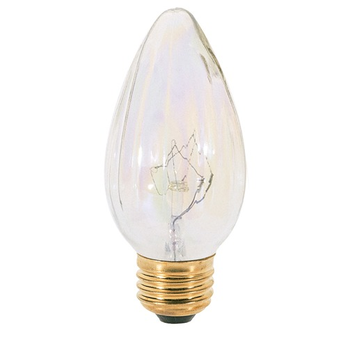 Satco Lighting Incandescent F15 Light Bulb Medium Base 120V Dimmable by Satco S3378