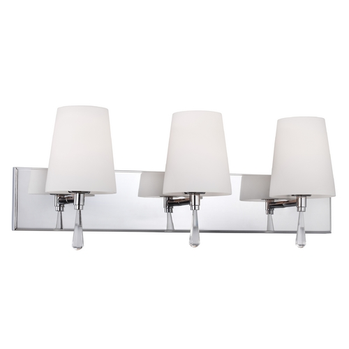 Feiss Lighting Feiss Lighting Monica Satin Nickel Bathroom Light VS53003-SN