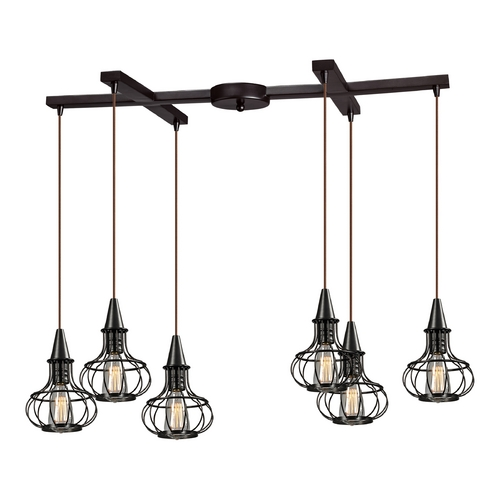 Elk Lighting Multi-Light Pendant Light 6-Lights 14191/6