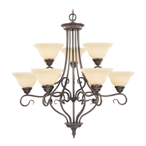 Livex Lighting Livex Lighting Coronado Imperial Bronze Chandelier 6119-58