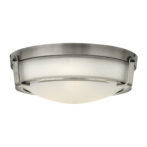 Hinkley Lighting Hinkley Lighting Hathaway Antique Nickel Flushmount Light 3225AN