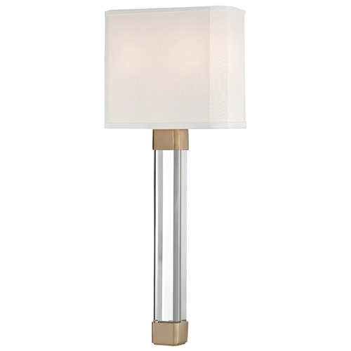 Hudson Valley Lighting Hudson Valley Lighting Larissa Aged Brass Sconce 1461-AGB