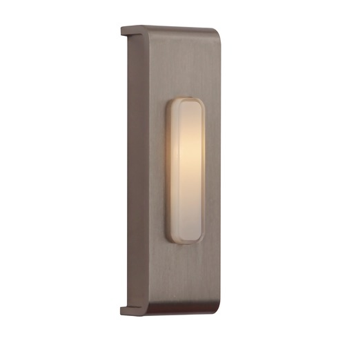 Craftmade Lighting Craftmade Lighting Concealed Mounting Brushed Polished Nickel Doorbell Button PB5001-BNK