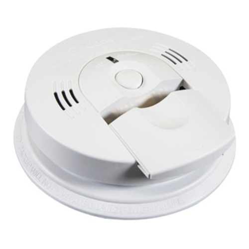 Kidde Safety Fyrnetics Direct Wire Carbon Monoxide/Smoke Alarm with Voice Warning 21006377-N (KN-COSM-IBA)
