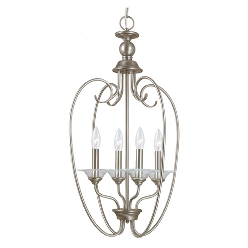 Sea Gull Lighting Pendant Light in Antique Brushed Nickel Finish 51316-965