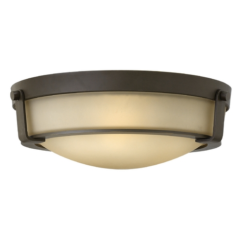Hinkley Lighting Hinkley Lighting Hathaway Olde Bronze Flushmount Light 3225OB