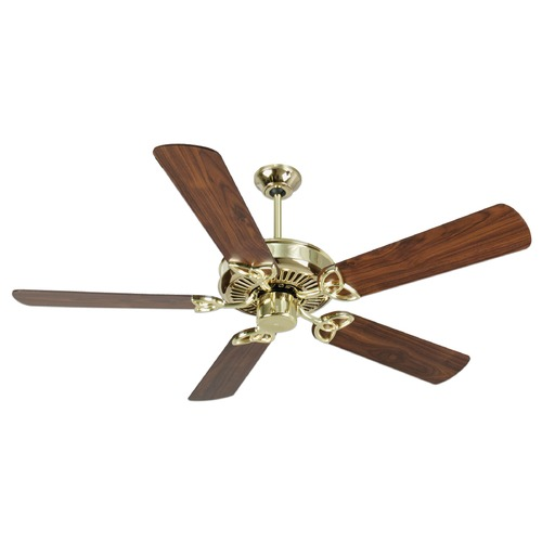 Craftmade Lighting Craftmade Lighting Cxl Polished Brass Ceiling Fan Without Light K10975
