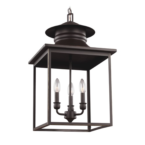 Sea Gull Lighting Sea Gull Huntsville Heirloom Bronze Pendant Light 5136103-782