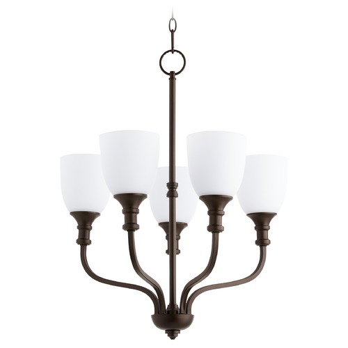 Quorum Lighting Quorum Lighting Richmond Oiled Bronze Chandelier 6811-5-86