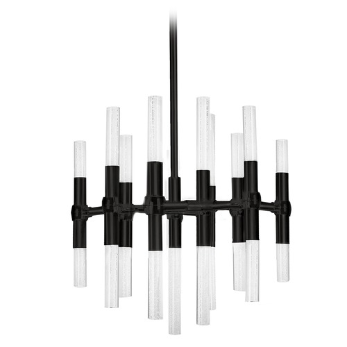 Kuzco Lighting Kuzco Lighting Turin Black Plating LED Chandelier CH9621-BL