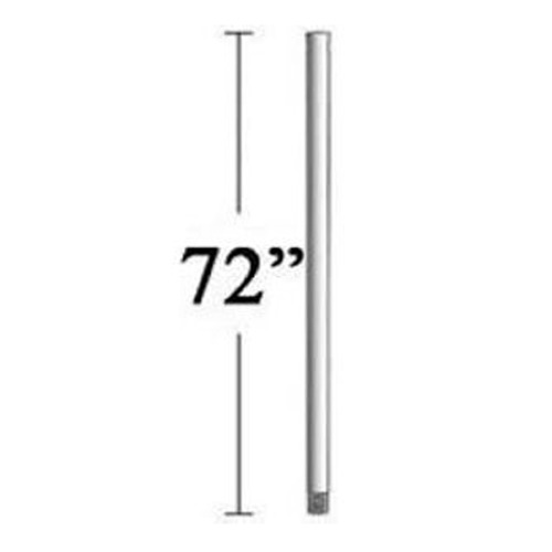 Minka Aire 72-Inch Downrod for Minka Aire Fans - Bone White Finish DR572-BWH