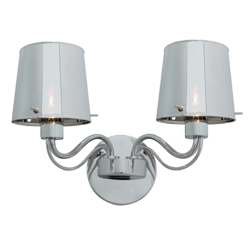 Access Lighting Access Lighting Milano Chrome Wall Lamp 55531-CH/CHR