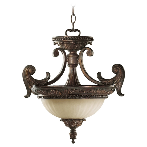 Quorum Lighting Quorum Lighting Madeleine Corsican Gold Pendant Light 2230-18-88