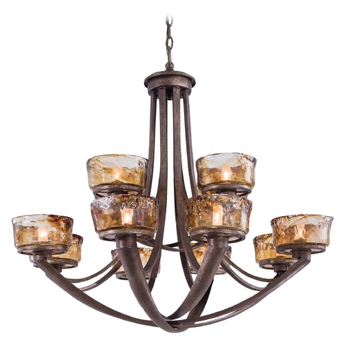 Minka Lavery Minka Lighting La Bohem Monarch Bronze Chandelier 4999-271