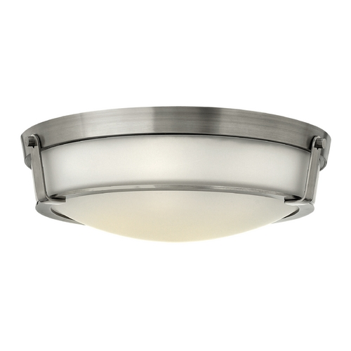 Hinkley Lighting Hinkley Lighting Hathaway Antique Nickel Flushmount Light 3226AN