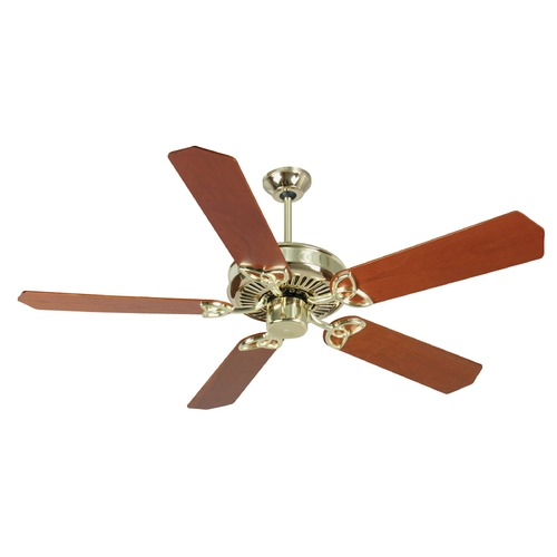 Craftmade Lighting Craftmade Lighting Cxl Polished Brass Ceiling Fan Without Light K10976