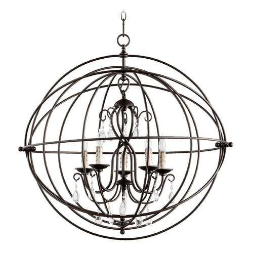 Quorum Lighting Quorum Lighting Cilia Oiled Bronze Pendant Light 6716-5-86