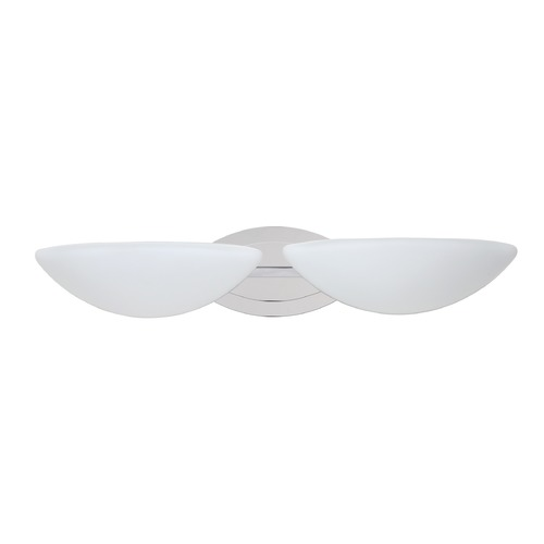 Besa Lighting Besa Lighting Jamie Chrome LED Bathroom Light 2WM-231807-LED-CR