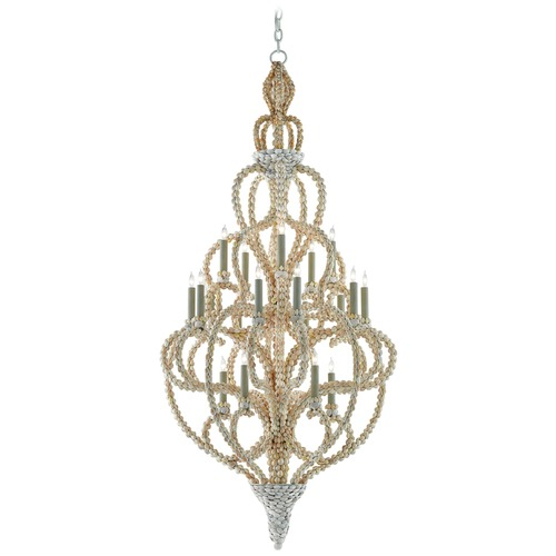 Currey and Company Lighting Currey and Company Corniche Natural Chandelier 9000-0038
