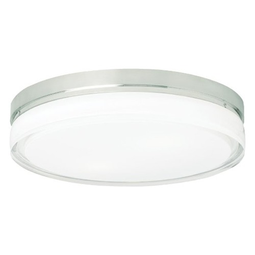 Tech Lighting Tech Lighting Satin Nickel Modern Flushmount Light 700CQSS