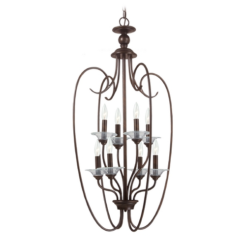 Sea Gull Lighting Pendant Light in Antique Brushed Nickel Finish 51317-965