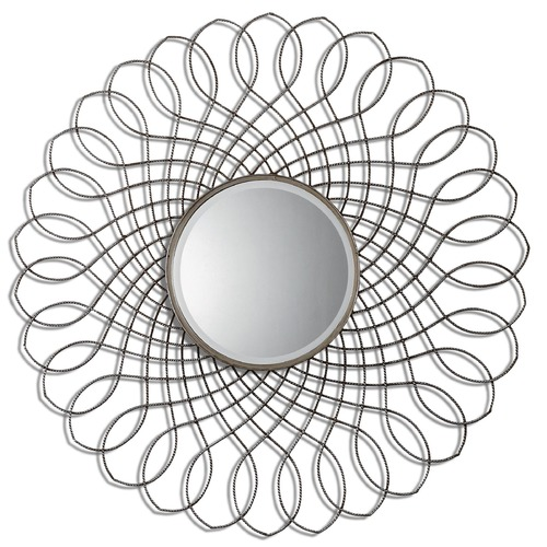 Uttermost Lighting Uttermost Delphine Round Metal Mirror 07675