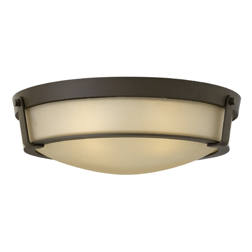 Hinkley Lighting Hinkley Lighting Hathaway Olde Bronze Flushmount Light 3226OB