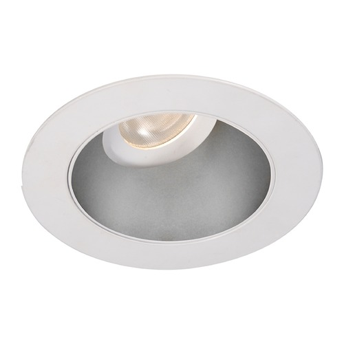 WAC Lighting WAC Lighting Round Haze White 3.5-Inch LED Recessed Trim 2700K 970LM 55 Degree HR3LEDT318PF927HWT