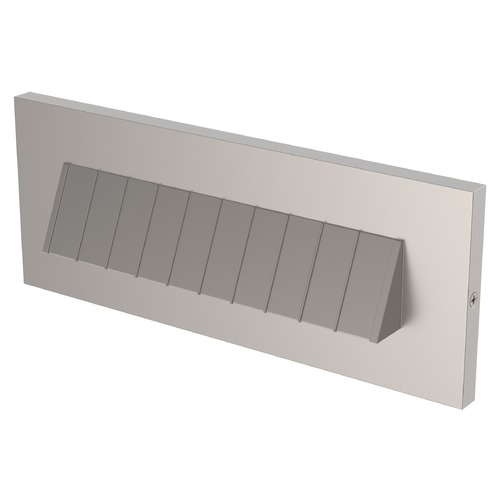 Sea Gull Lighting Sea Gull Lighting LED Brick Lighting Satin Nickel LED Recessed Step Light 94403S-849