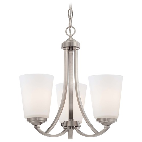 Minka Lavery Overland Park Brushed Nickel Mini-Chandelier 4963-84