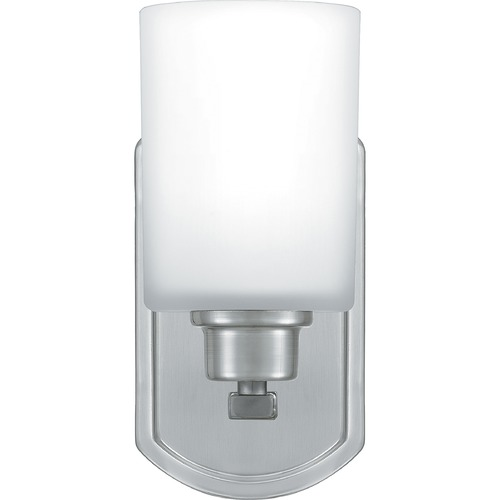Quoizel Lighting Quoizel Lighting Pruitt Brushed Nickel Sconce PRUO8607BN