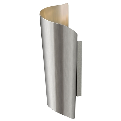 Hinkley Lighting Modern LED Outdoor Wall Light in Stainless Steel Finish 2354SS