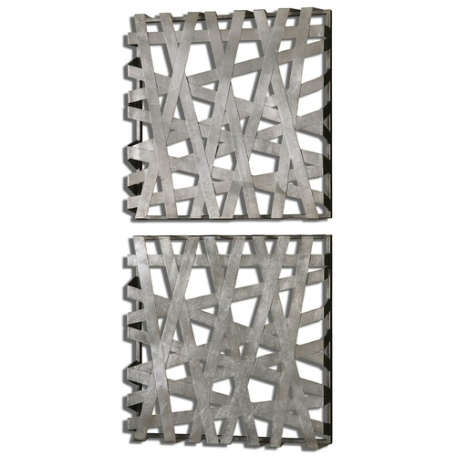 Uttermost Lighting Uttermost Alita Squares Wall Art Set of 2 07676