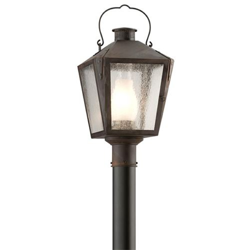Troy Lighting Troy Lighting Nantucket Charred Iron Post Light P3764CI