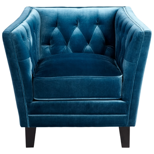 Cyan Design Cyan Design Blue Prince Valiant Blue Chair 6325