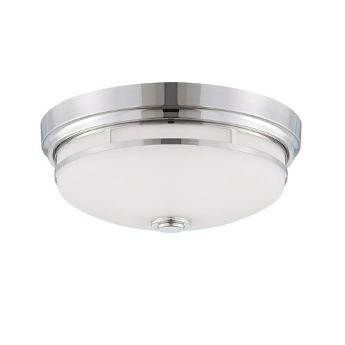 Savoy House Savoy House Polished Nickel Flushmount Light 6-3340-13-109