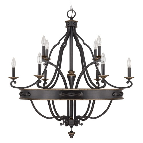 Capital Lighting Capital Lighting Wyatt Surrey Chandelier 4250SY-000