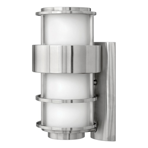 Hinkley Lighting Hinkley Lighting Saturn Stainless Steel LED Outdoor Wall Light 1904SS-LED