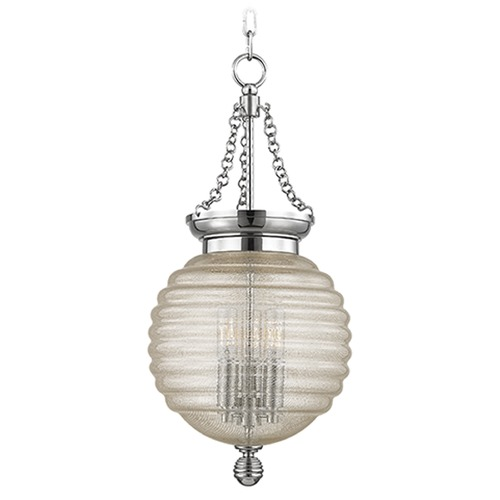 Hudson Valley Lighting Coolidge 3 Light Mini-Pendant Light - Polished Nickel 3210-PN