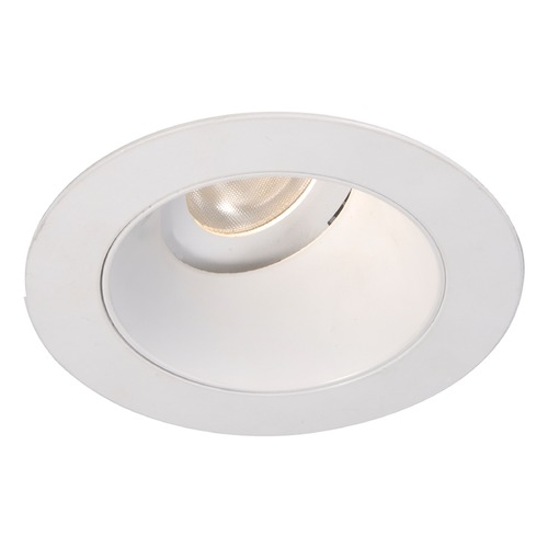 WAC Lighting WAC Lighting Round White 3.5-Inch LED Recessed Trim 2700K 970LM 55 Degree HR3LEDT318PF927WT