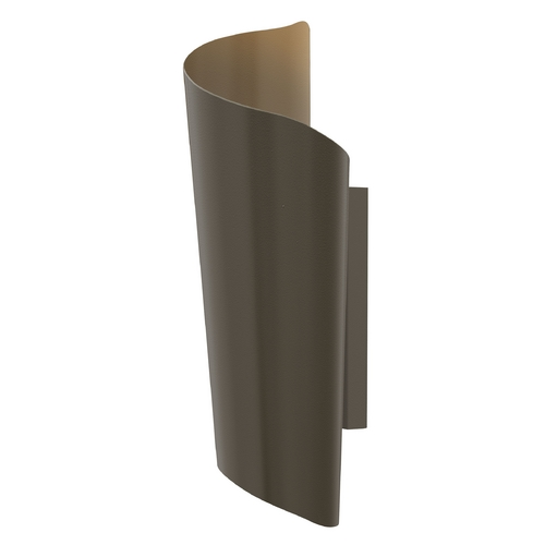Hinkley Lighting Modern LED Outdoor Wall Light in Bronze Finish 2355BZ